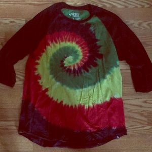 Juniors tied dyed T-shirt